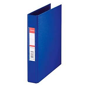 Ringbuch Esselte 47685, A5, 2-Ringe, Ringdurchmesser: 25mm, blau