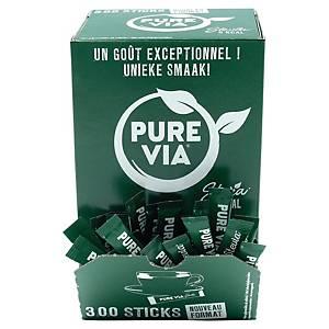 Stevia Pure Via - boîte de 300 bûchettes