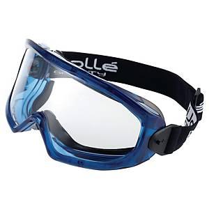 Skyddsglasögon Bollé SUPBLV Superblast, korgglasögon, svarta/blå