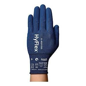 Rękawice ANSELL Hyflex® 11-816, czarno-niebieskie, rozmiar 11, para