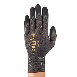 Protective gloves HyFlex 11-931 Ansell, cutting work, typ EN388 4X42B, size 8