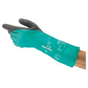 Gants chimiques Ansell Alphatec 58-735, revêtement nitrile, taille 7, 6 paires