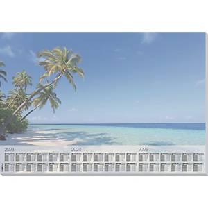 Schreibunterlage Sigel HO470, 59,5 x 41cm, Beach