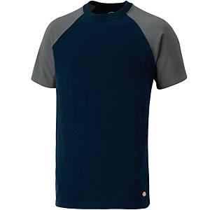 T-Shirt DICKIES TwoTone SH2007-NYGY, Größe: L, Marineblau/Grau