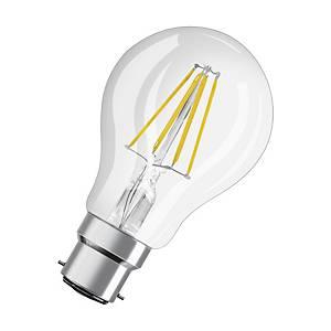 Ampoule LED standard Osram - claire - 7 W = 60 W - culot B22