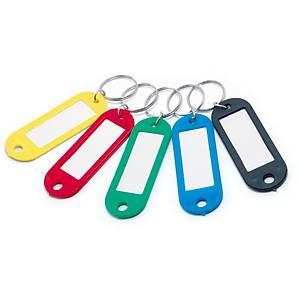 Breloczki do kluczy, TAURUS 39-641072, miks kolorów, 10 sztuk