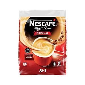Nescafe 3 in 1 Coffee Blend & Brew Original - Pack of 85