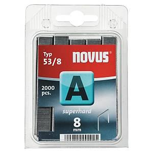 Caixa 2000 agrafos Novus A 53/8 - 8mm