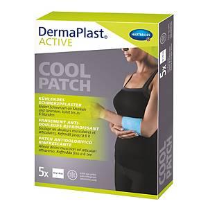 Schmerzpflaster DermaPlast Active, 10x14 cm, Packung à 5 Stück