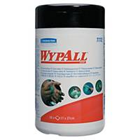 Caja de 50 toallitas húmedas limpiadoras Wypall 7772