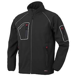 Giacca Softshell Issa Line Just nero tg S