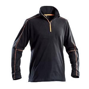 Micropile mezza zip fashion P&P Workwear nero tg L