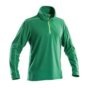 Micropile mezza zip fashion P&P Workwear verde tg XXL
