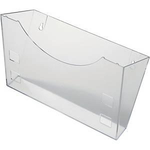 Wandhalter Helit 6103002, für A4/A5/A6, glasklar
