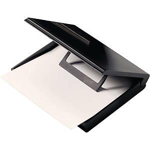 Notizzettel-Box Helit H63058, ohne Inhalt, für 200 Blatt, Maße: A7, schwarz