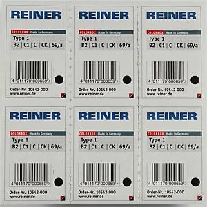 Recharge Color Box type 1 pour tampon numéroteur Reiner B2 , noire