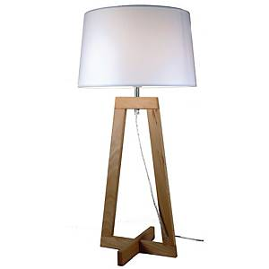 ALUMINOR SACHA LED LAMP WOOD