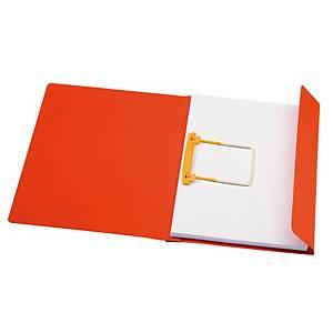 Jalema Secolor farde à clip Folio carton 270g rouge