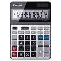Calculatrice Canon TS-1200TSC, affichage 12caractères, argenté