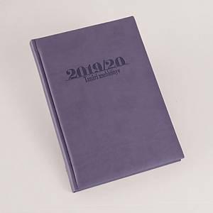 Profesionálny učiteľský diár Realsystem v maďarskom jazyku, fialový, 1ks