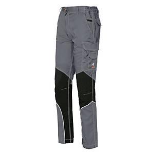 Pantaloni Issa Line Stretch Extreme grigio/nero tg L