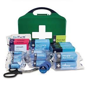 BS8599-1 Medium Catering Kit In Green & Blue Medium Aura Box