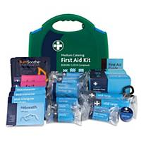 BS8599-1 Medium Catering Kit In Green & Blue Medium Aura Box