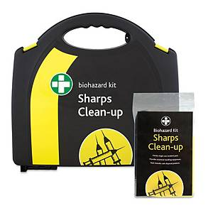 HSE Sharps Clean Up Kit 5 Applications In Medium Aura Box