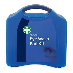 Eye Wash Pod Station In Large Blue Aura Box