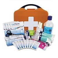 HSE Burns First Aid Kit In Orange Aura Box