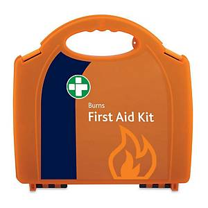 HSE Burns First Aid Kit In Orange Aura Box