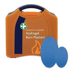Hydrogel Burns Plaster In Large Orange Aura Box