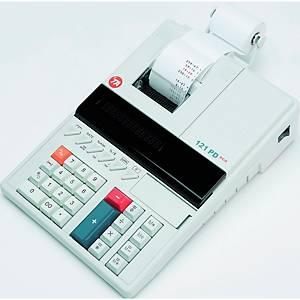 Tischrechner TA 121PD Eco, 12stellig, Netzbetrieb, grau