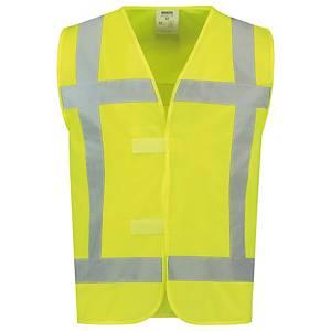 Tricorp V-RWS hi-viz waistcoat yellow - size M/L