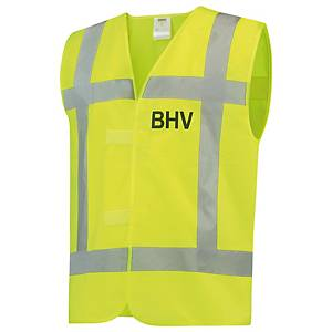 Tricorp V-RWS-BHV hi-viz waistcoat yellow - size M/L