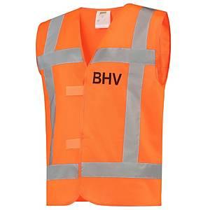 Tricorp V-RWS BHV hi-viz fluohesje, fluo oranje, maat M/L, per stuk