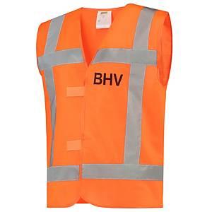 Tricorp V-RWS BHV hi-viz fluohesje, fluo oranje, maat 3XL/4XL, per stuk