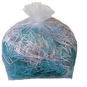 Plastiksäcke Fellowes 36054, für Aktenvernichter, Volumen: 98 Liter, 50 Stück