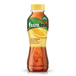 Fuze teejuoma sitruuna 0,4L, 1 kpl=12 pulloa