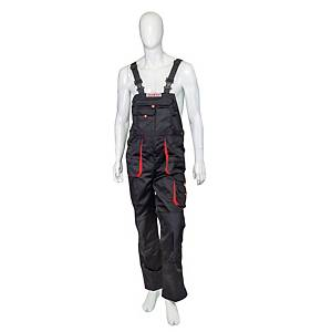 F&F BE-01-004 DUNGAREES BL/RED 60 NH_MSH