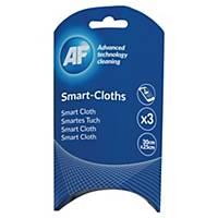 Rengøringsklud AF, Smart-Cloths, pakke a 3 stk.