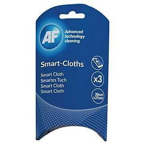 AF Smart-Cloths puhdistusliina 30 x 25cm, 1 kpl=3 liinaa