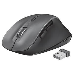 Rato sem fios Trust Ravan - 6 botões - preto