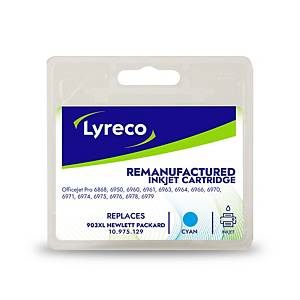 Lyreco remanufactured HP 903XL (T6M03AE) inkt cartridge, cyaan