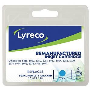 Tinteiro LYRECO compativel com Hp T6M03A capacidade XL cor cyan