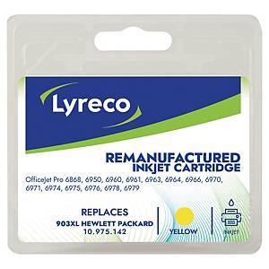 Cartouche d encre Lyreco compatible équivalent HP 903XL - T6M11AE - jaune