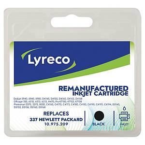 LYRECO kompatible Tintenpatrone HP 337 (C9364EE) schwarz