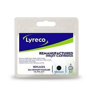 Lyreco remanufactured HP 364 (CB317EE) inkt cartridge, foto, zwart