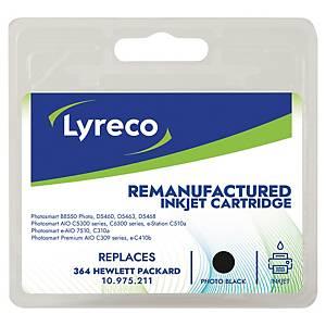 Cartucho de tinta Lyreco HP 364 compatible - CB317EE - fotográfico - negro