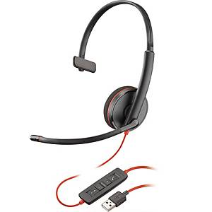 Headset Plantronics C3210 PC, mono, med kabel